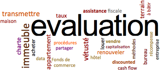 evalution immobiliere
